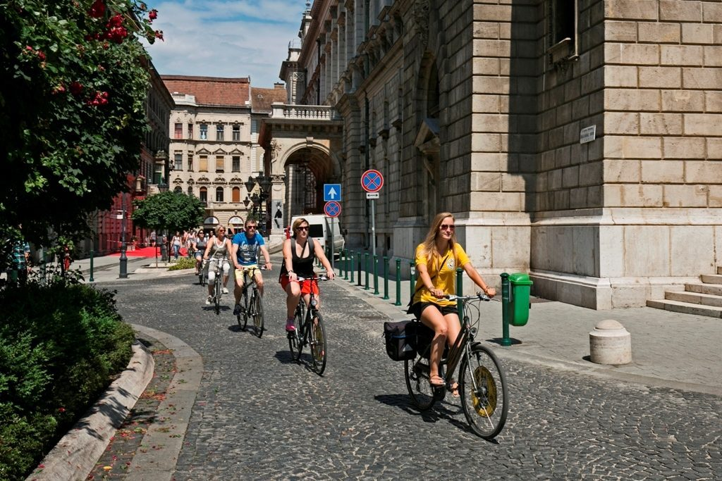 Budapest evening bike ride,Budapest Summer bike ride,Absolute Tours Budapest,bike tours Hungary,guided tours Budapest