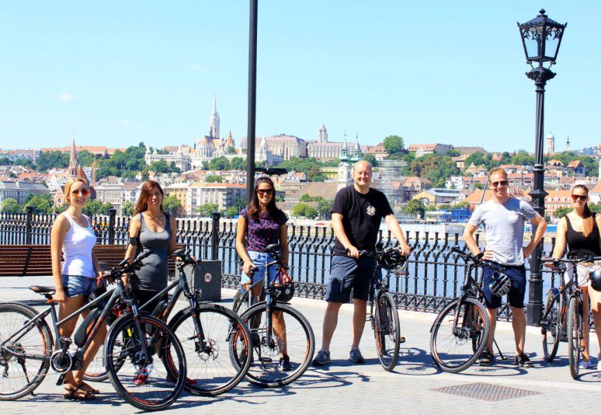 Budapest E-Bike Tour with Buda Castle