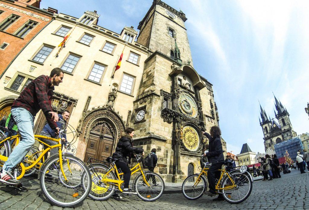 bike tour prague